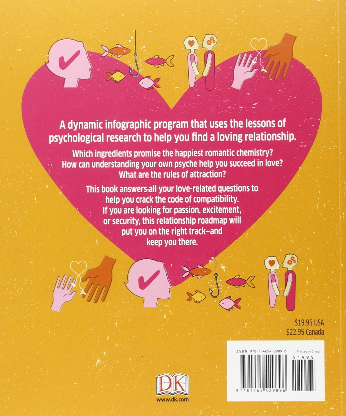 Love: The Psychology Of Attraction: Dk: 9781465429896: Amazon: Books