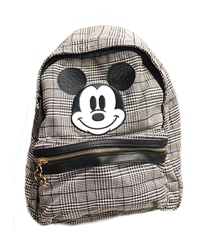 57d3cfd1 Primark Disney Mickey Mouse face grey backpack rucksack: Amazon.co.uk:  Shoes & Bags