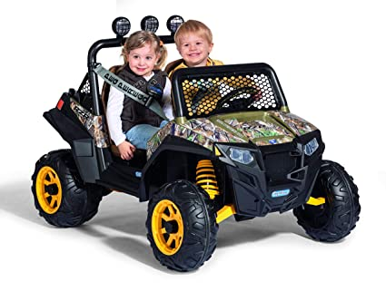 Peg Perego Ride On Toys >> Amazon Com Peg Perego Polaris Rzr 900 Camo Ride On Toys Games