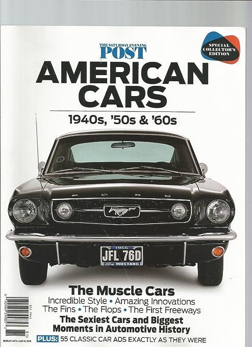 Amazon Com The Saturday Evening Post American Cars Magazine 1940s
