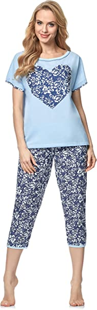 Italian Fashion IF Pijama Camiseta y Pantalones Mujer 91Y1 0225