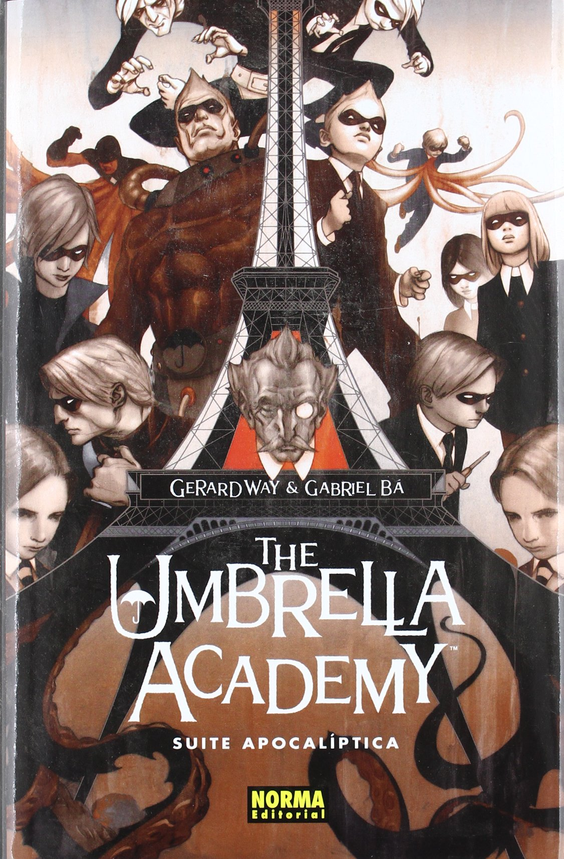 Download The Umbrella Academy 1: Suite Apocaliptica / Apocalypse Suite (Spanish Edition) ebook