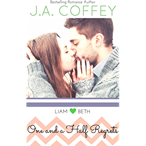 One and a Half Regrets: A Sweet, New Adult Romance (Love by the Numbers Book 1)