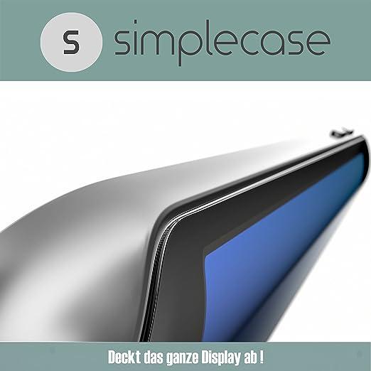 4 opinioni per Simpl ecase gebogener/Curved/3d Full Screen Premium Pellicola Protettiva per