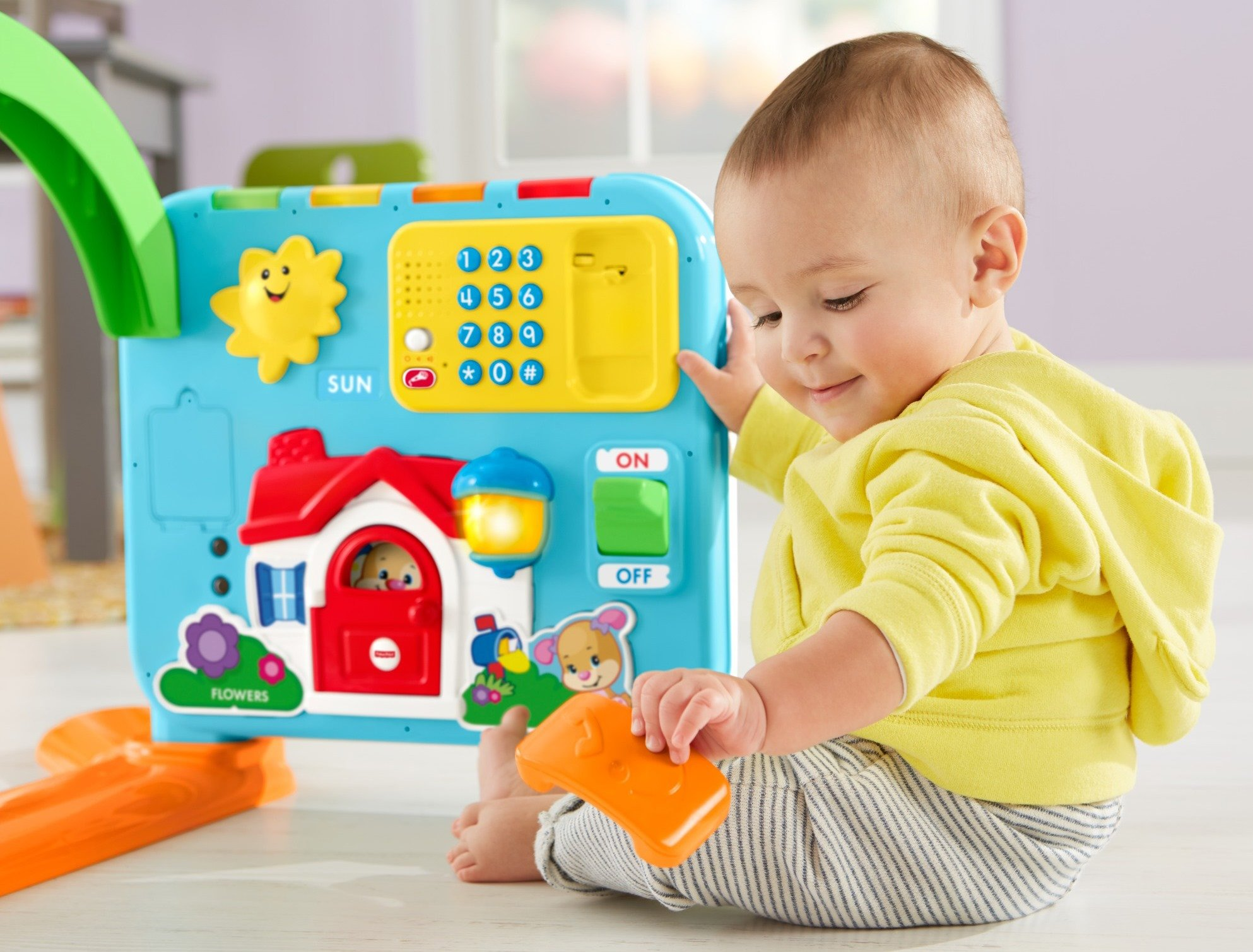 Fisher-Price Laugh & Learn Crawl-Around Learning Center by Fisher-Price (Image #10)