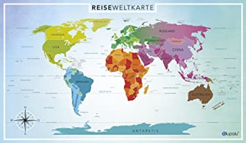 weltkarte groß blupalu Weltkarte World Map Poster für Pins   Groß (XXL) – inkl  weltkarte groß