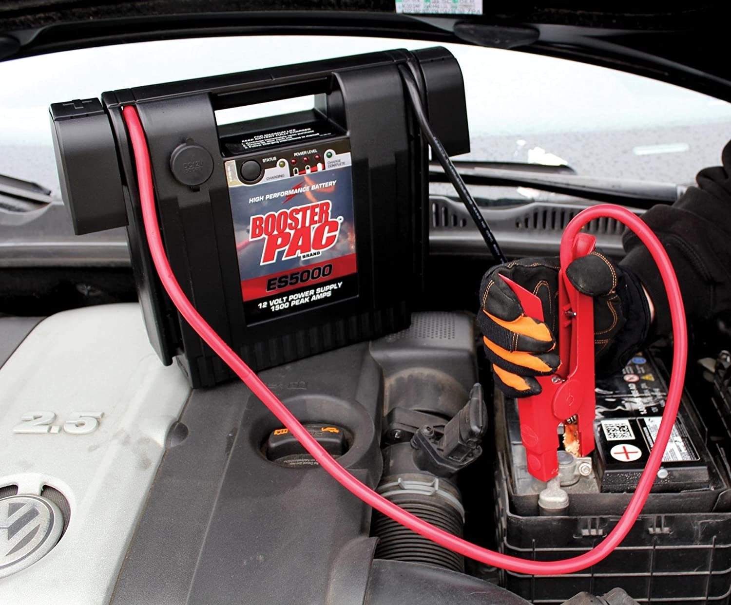 Amazon.com: Booster PAC ES5000 1500 Peak Amp 12V Jump Starter: Automotive