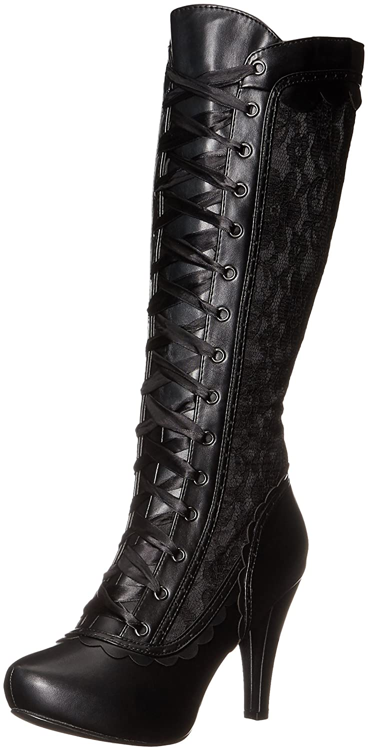 Ellie Shoes Women's 414-Mary Boot B01JASCYC4 12 B(M) US|Black
