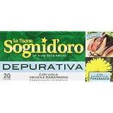 Sognid'Oro - Tisana, Depurativa, Con Viola, Menta E Rabarbaro - 40 G  20 Filtri