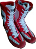 Lace up High Top Boxing Shoes (RED) Lordz