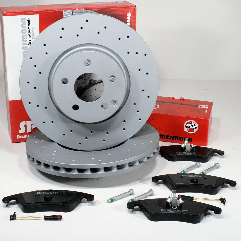 - MERCEDES-BENZ E-CLASS W212 2x Disc 1x Pad Set Pagid Rear Brake Kit
