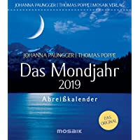 Das Mondjahr 2019: Abreißkalender