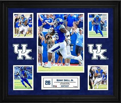 ecfe158e971 Benny Snell Jr. Kentucky Wildcats Framed 23