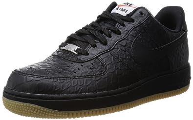 air force 1 black gum