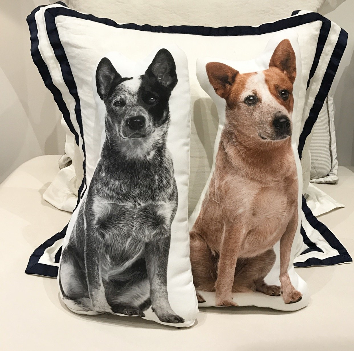 Cushion Co - Red Heeler Dog Shaped Pillow 16'' x 12'' by Cushion Co (Image #4)