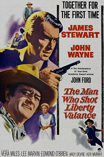 Image result for the man who shot liberty valance poster amazon