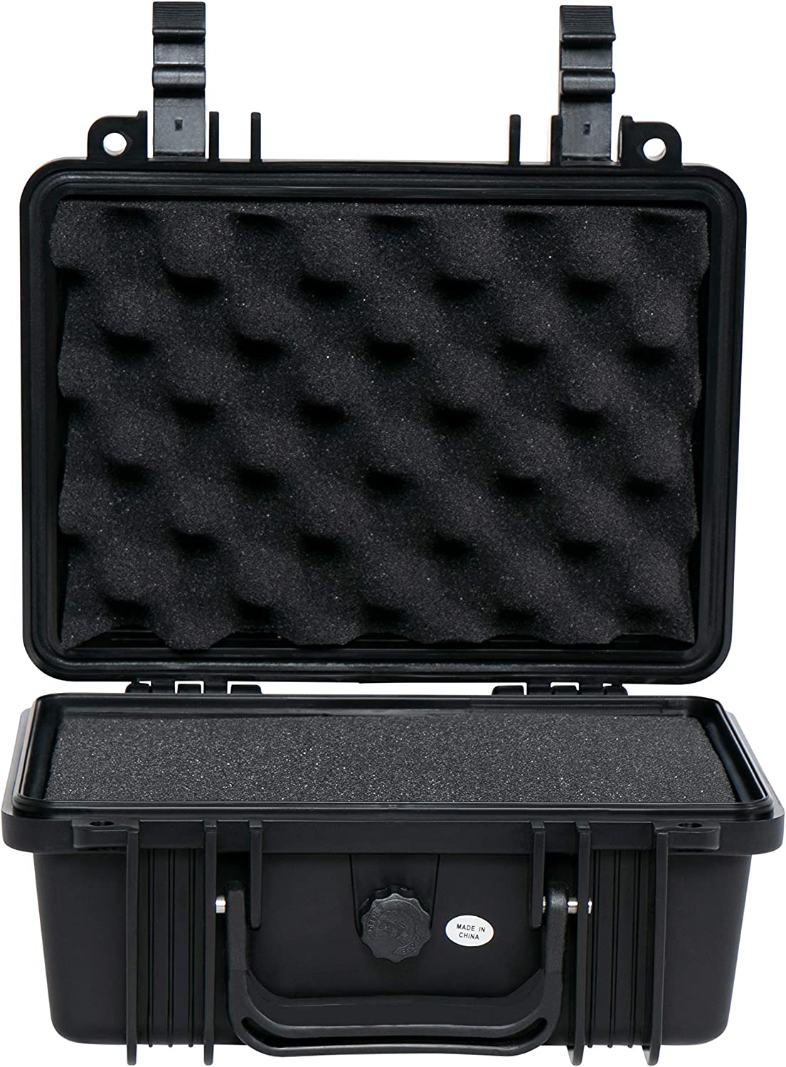 Durabox All Weather Travel Hard Case with Customizable Foam for Camera, Electronics and Gear (Small 10