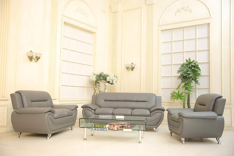 Amazon.com: GTU Furniture - Juego de sofá y sofá de 2 piezas ...