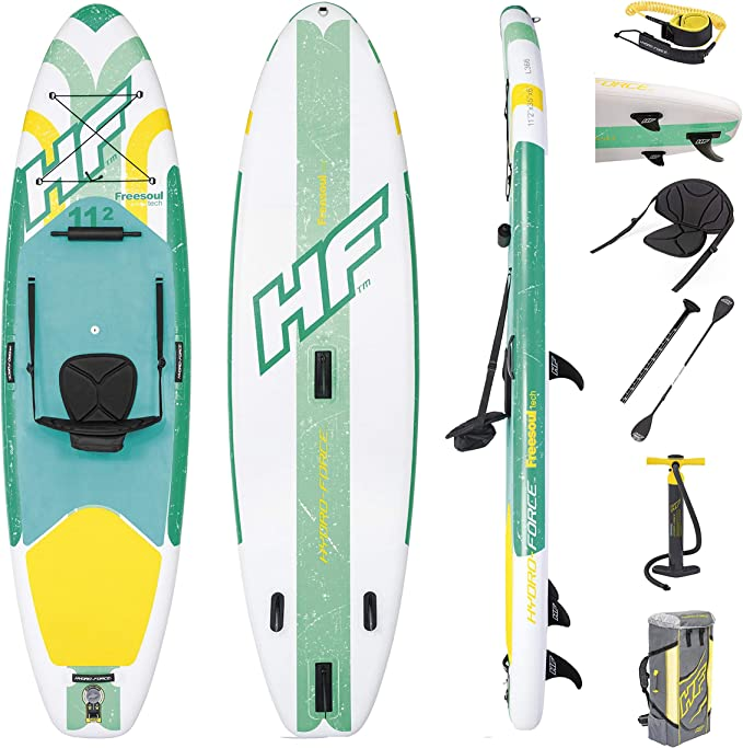 Bestway Freesoul Tech 65310 - Tabla inflable de paddle surf con ...