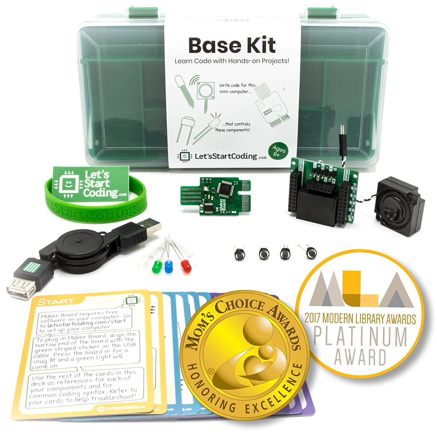 Base Coding Kit | Kids 8-12 Learn Real Code Hands-On