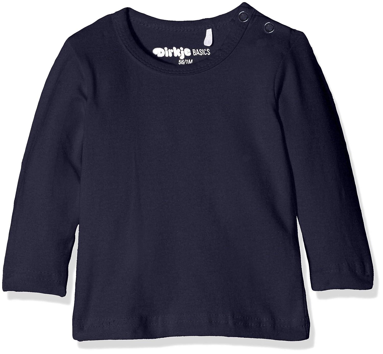 Dirkje T-Shirt Long Sleeves, Camiseta para Bebés Bleu (Navy) Recién Nacido N48-50