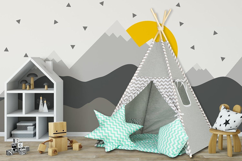 Tipi Zelt Indianerzelt handgemacht von Dreamzzz