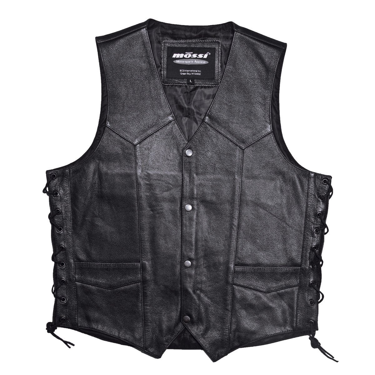 Mossi Live to Ride Men's Vest (Black, Size 52)