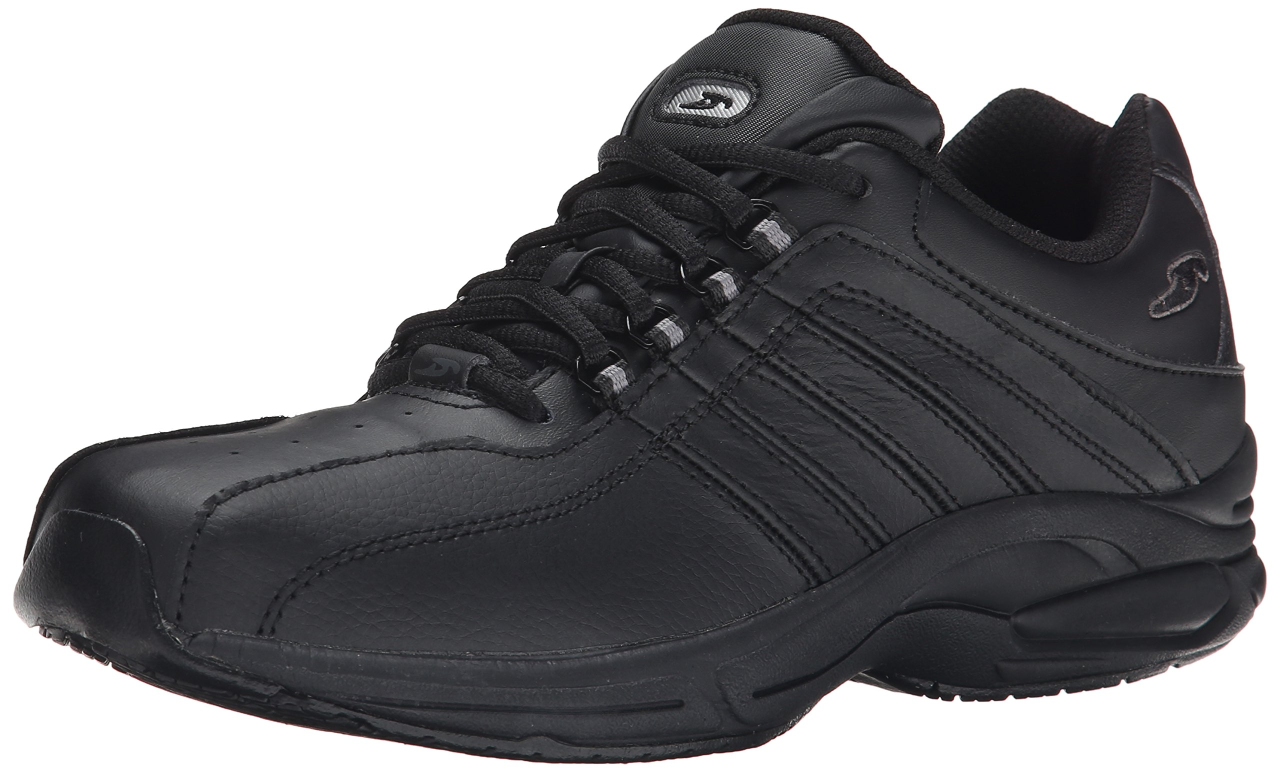 Dr. Scholl's Women's Kimberly Slip Resistant Work Shoe,Black,9 M US