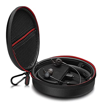 QC 30 inalámbrico auriculares estuche de carga, antank protectora in-Ear auriculares Bluetooth móvil casos de transporte con banco de potencia incorporado ...