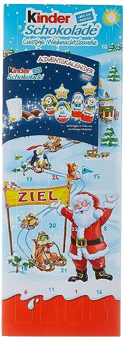Schokoladen Weihnachtskalender.Kinder Schokolade Gefüllte Figuren Adventskalender 1er Pack 1 X 204 G