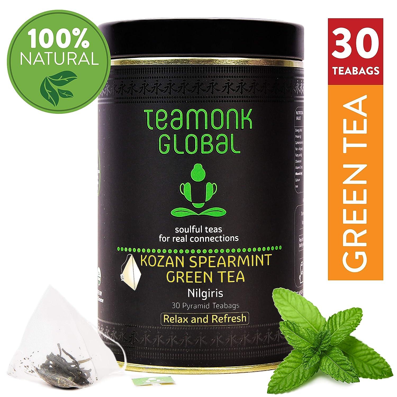 Nilgiri Kozan Spearmint Green Mint Tea For Weight Loss Health And