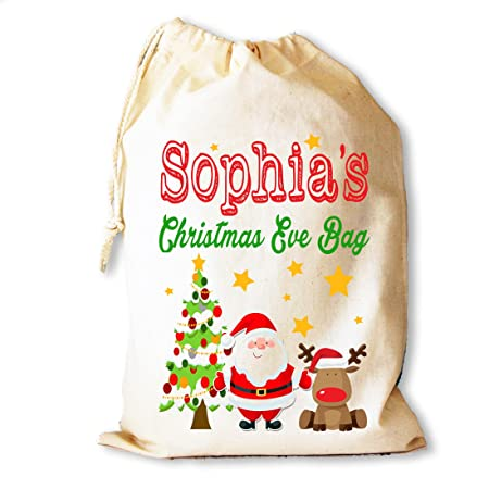 Personalised Christmas Eve gift bag for those that can\'t wait for ...