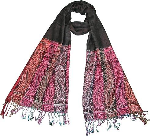 Lovarzi Womens Scarf Gorgeous Paisley Pashmina Scarf//Shawl for Women