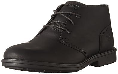 7b457559ce7c1 Timberland Men s Carter Notch Waterproof Plain Toe Chukka Black Full Grain  Boot 11.5 D (M