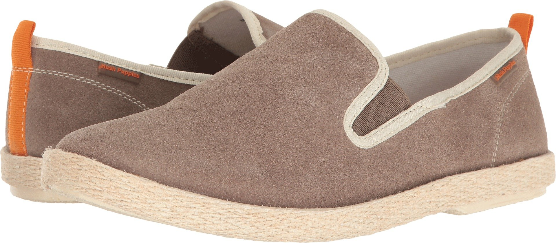 Hush Puppies Men's Bold Yahman Slip-on Loafer, Taupe Suede, 8 W US
