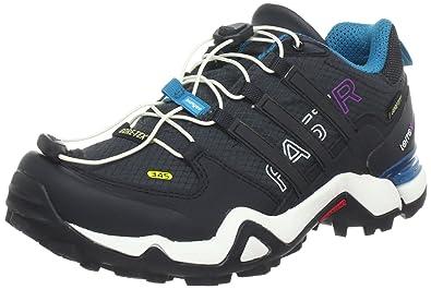 Adidas Terrex Fast R Gore-Tex Women's Trail Walking Shoes - 8 - Black