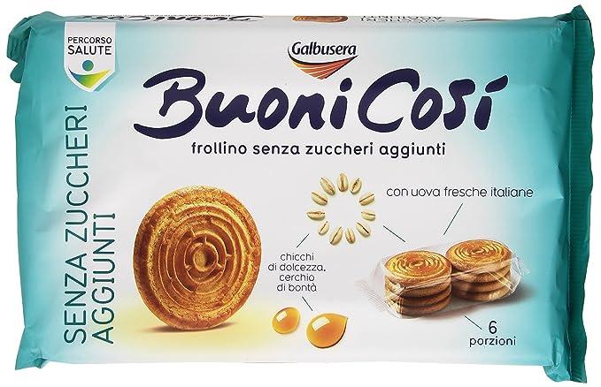 Galbusera , Buoni Così, Biscotti Frollini Senza Zuccheri Aggiunti , 330 G