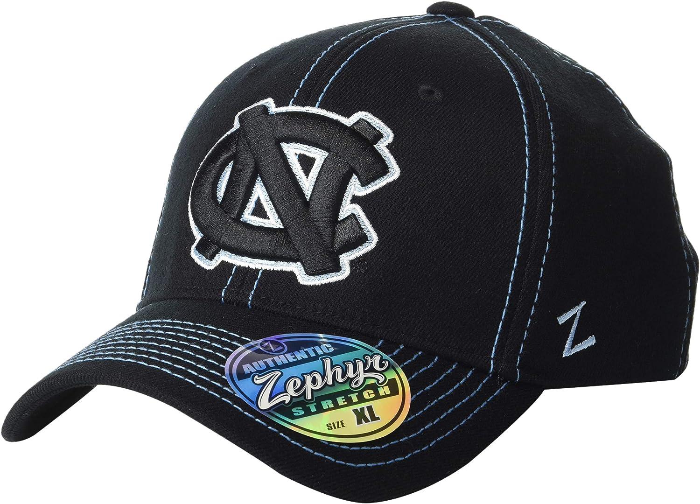 Navy Zephyr Mens Center Court Z-Fit Cap X-Large
