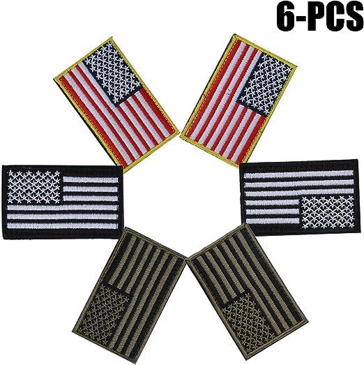 Estados Unidos Bandera Parche, Funpa 6 Piezas Airsoft Parches ...