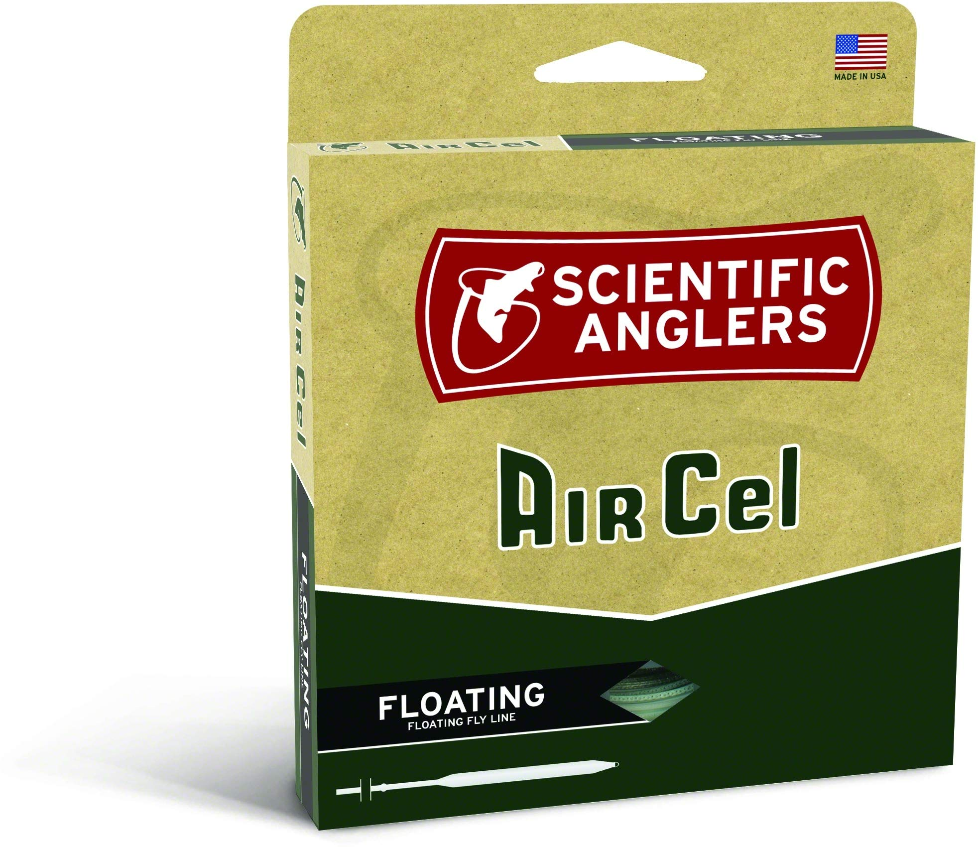 Scientific Anglers Air Cel Floating Lines, Yellow, WF- 9-F by Scientific Anglers
