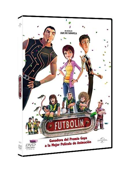 Futbolín [DVD]: Amazon.es: Personajes animados, Juan José ...