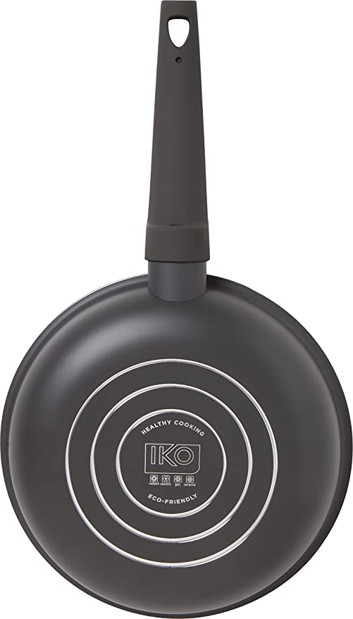 Amazon.com: IKO Copper Ceramic Non Stick Fry Pan Dishwasher Safe with Soft Touch Handle (10 inch, Green): Kitchen & Dining