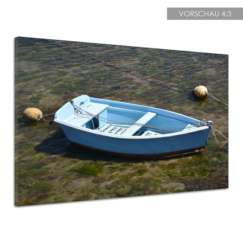 Amazon.de: Boot Paddel Ruder Wasser Bojen Holz Fischer Leinwand ...