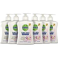 Dettol Handzeep - Extra Care Gevoelige en Normale Huid Lotus & Kamille 6 x 250 ml Grootverpakking