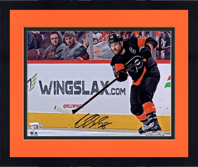 Framed Claude Giroux Philadelphia Flyers Autographed 16 x 20 Goal Celebration Photograph Fanatics Authentic Certified