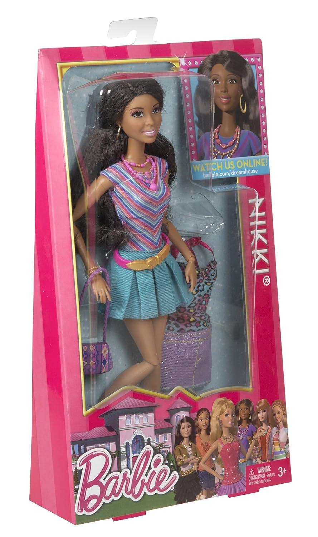 Charming Barbie Mattel Y7440   Life In The Dreamhouse Nikki, Puppe: Amazon.de:  Spielzeug