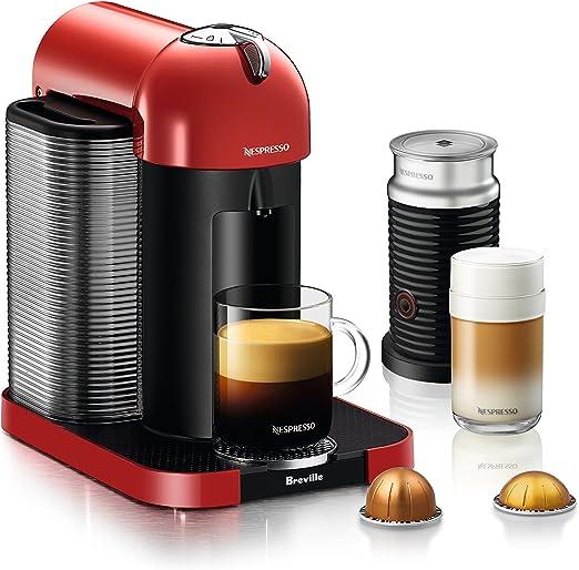 Nespresso VertuoLine cafetera y cafetera espresso con aeroccino y ...