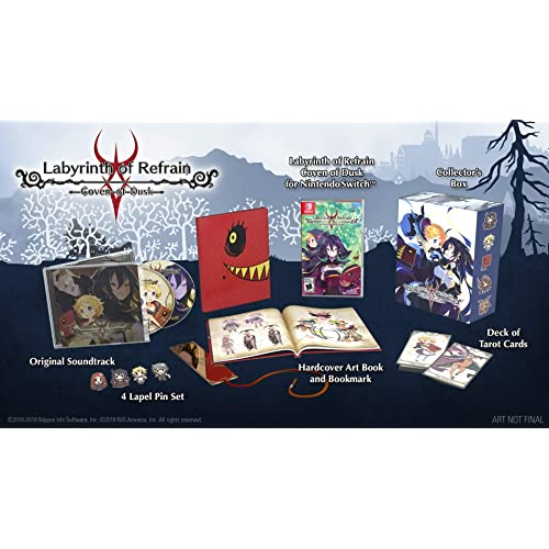 Labyrinth of Refrain: Coven of Dusk Limited Edition - Nintendo Switch