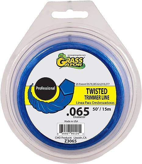 Grass Gator Z3065 Zip String Trimmer Line Pro 50-Feet Loop .065
