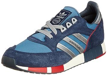 adidas Originals BOSTON SUPER Blau Wild Herren Sneakers Schuhe Neu